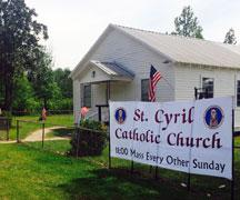 St. Cyril Chapel (Flatwoods)